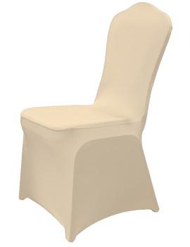 Чехол универсальный на стул из бифлекс цвет бежевый