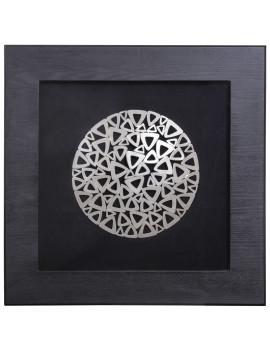 Панно «Металлические треугольники»