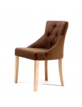 Стул «GL591C с пуговицами» с мягким сиденьем (деревянный каркас)