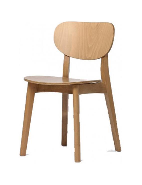 Стул «Ginger color» с жестким сиденьем (деревянный каркас)