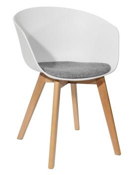 Кресло «Лимбо» с мягким сиденьем (деревянный каркас)