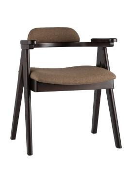 Стул «OLAV» с мягким сиденьем (деревянный каркас)