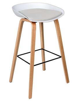 Стул барный «Лимбо» с мягким сиденьем (деревянный каркас)
