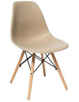 Стул «Eames Лайт» с жестким сиденьем (ножки дерево)