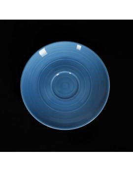 Блюдце «Corone Caffetteria» голубой