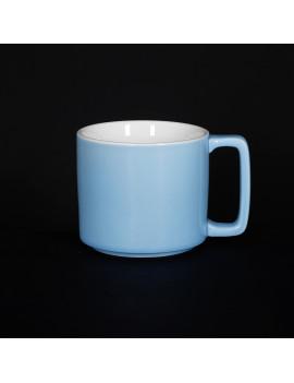 Кружка «Corone Caffetteria» 360 мл голубой