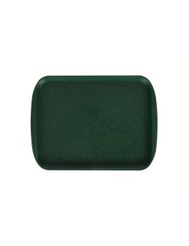 Поднос столовый 330х260 мм темно-зеленый