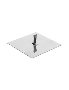 Крышка к форме для выпечки/выкладки «Квадрат» 100х100 мм