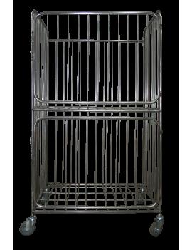 Стеллаж на колесах ТСП-600 (сетчатый ящик для белья)