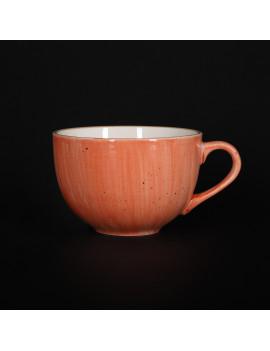 Чашка чайная 320 мл коралловая «Corone Natura»