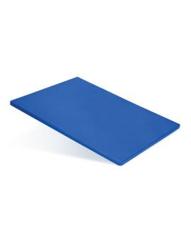 Доска разделочная 400х300х12 мм синий полипропилен