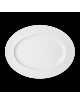 Блюдо овальное «Corone» 333х260 мм [LQ-QK15069C]