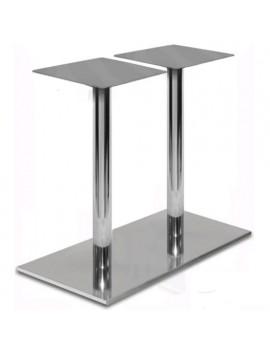 Подстолье ДВ111-2 (сталь/хром)