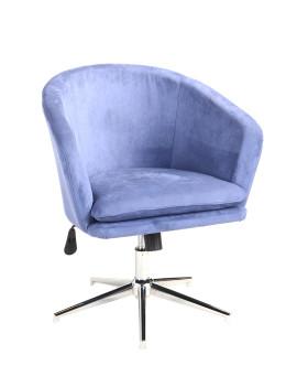 Кресло «Хасан» с мягким сиденьем (хромированный каркас)