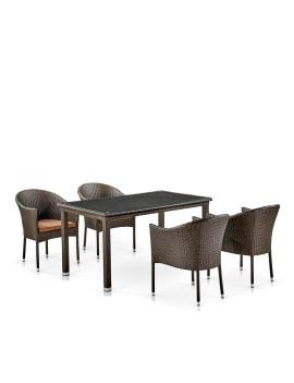 Комплект мебели «Визеу-1» из искусственного ротанга