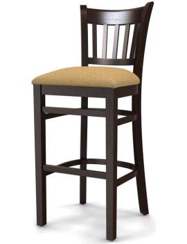 Стул барный «Ливерпуль» с мягким сиденьем (деревянный каркас)
