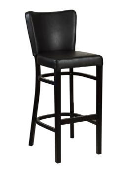Стул барный «Бельз Люкс» с мягким сиденьем (деревянный каркас)