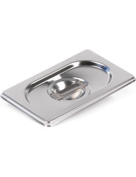 Крышка Luxstahl из нержавеющей стали для GN 1/12 [8112-L]