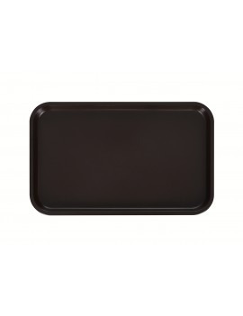 Поднос столовый 530х330 мм темно-коричневый